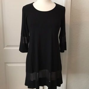 Ladies black TUNIC